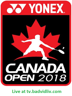 Canada Open 2018 live streaming
