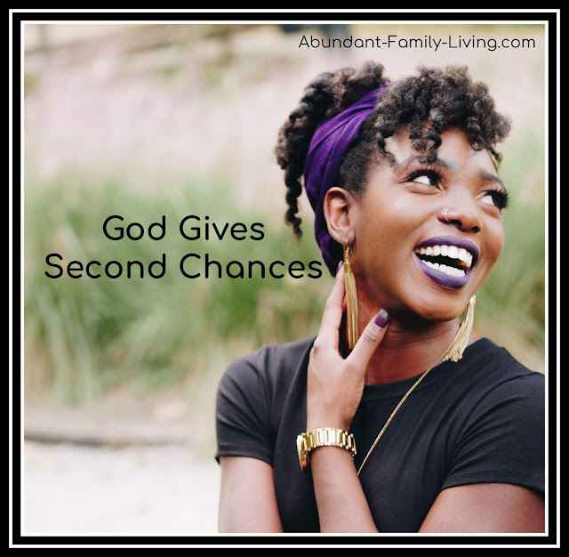 God is a God of Second Chances