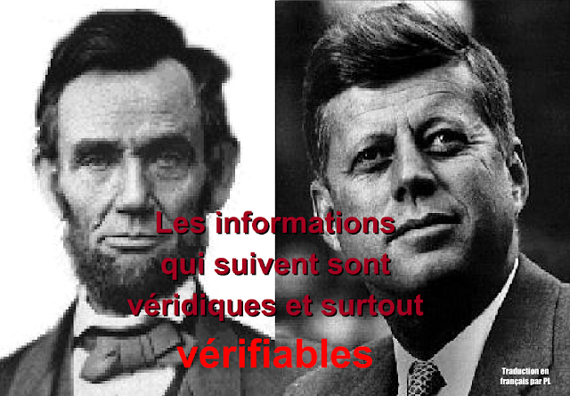 Kennedy Lincoln similitudes dans la biographie
