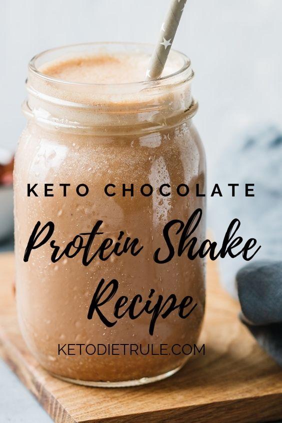 Chocolate Keto Protein Shake Recipe