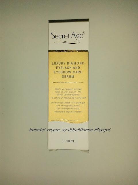 Secret Age Kozmetik Kaş ve Kirpik Serumu
