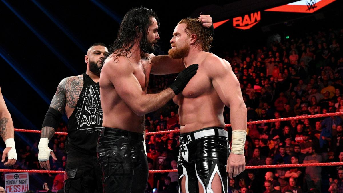 Seth Rollins e Buddy Murphy são os novos RAW Tag Team Champions