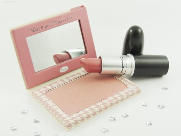 revue avis test maquillage printemps violet