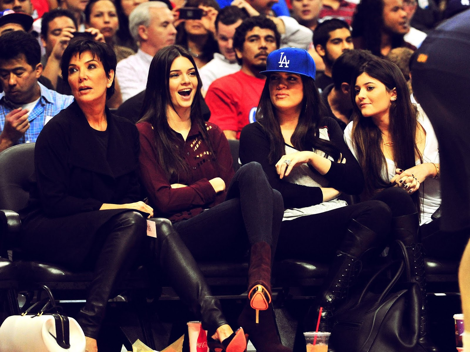 16 - Watching The Los Angeles Clippers Game on October 17, 2012