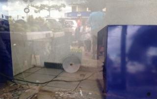 Roban cajero automatico de Banamex en barrio Tamarindo de Acayucan Veracruz