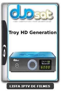 Duosat Troy HD Generation Nova Atualização Resolvido problema VOD V1.95 - 04-06-2020