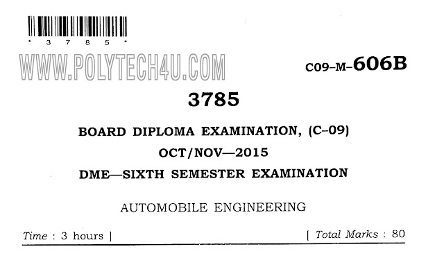 c09 mechanical 606- automobile engineering old question paper oct/nov-2015