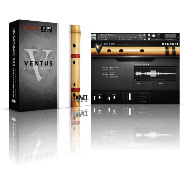 Ventus Ethnic Winds - Bansuri KONTAKT Library