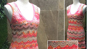 Cómo tejer un vestido al crochet / Tutorial en video