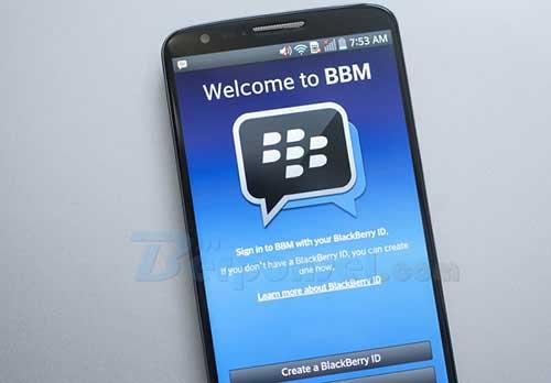 Cara Mengganti Nada Pemberitahuan Aplikasi BBM di Android