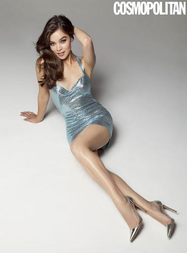 Hailee Steinfeld sexy model photo shoot Cosmopolitan Magazine December 2018