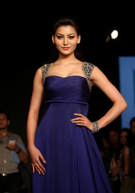 Urvashi Rautela at Lakme Fashion Week Summer Resort 2014