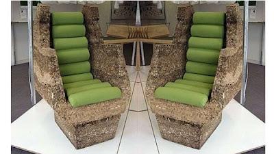 Sillas y sillones de materiales reciclados quiero m s for Sillon con palets reciclados