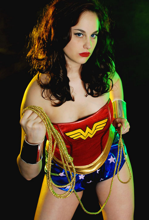 Justice League of America (JLA) Cosplay: Wonder Woman (Meagan Marie)