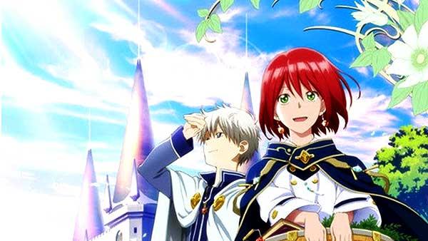 Akagami no Shirayukihime - Anime shoujo terbaik dan populer yang romantis