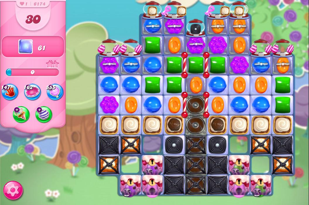 Candy Crush Saga level 6174