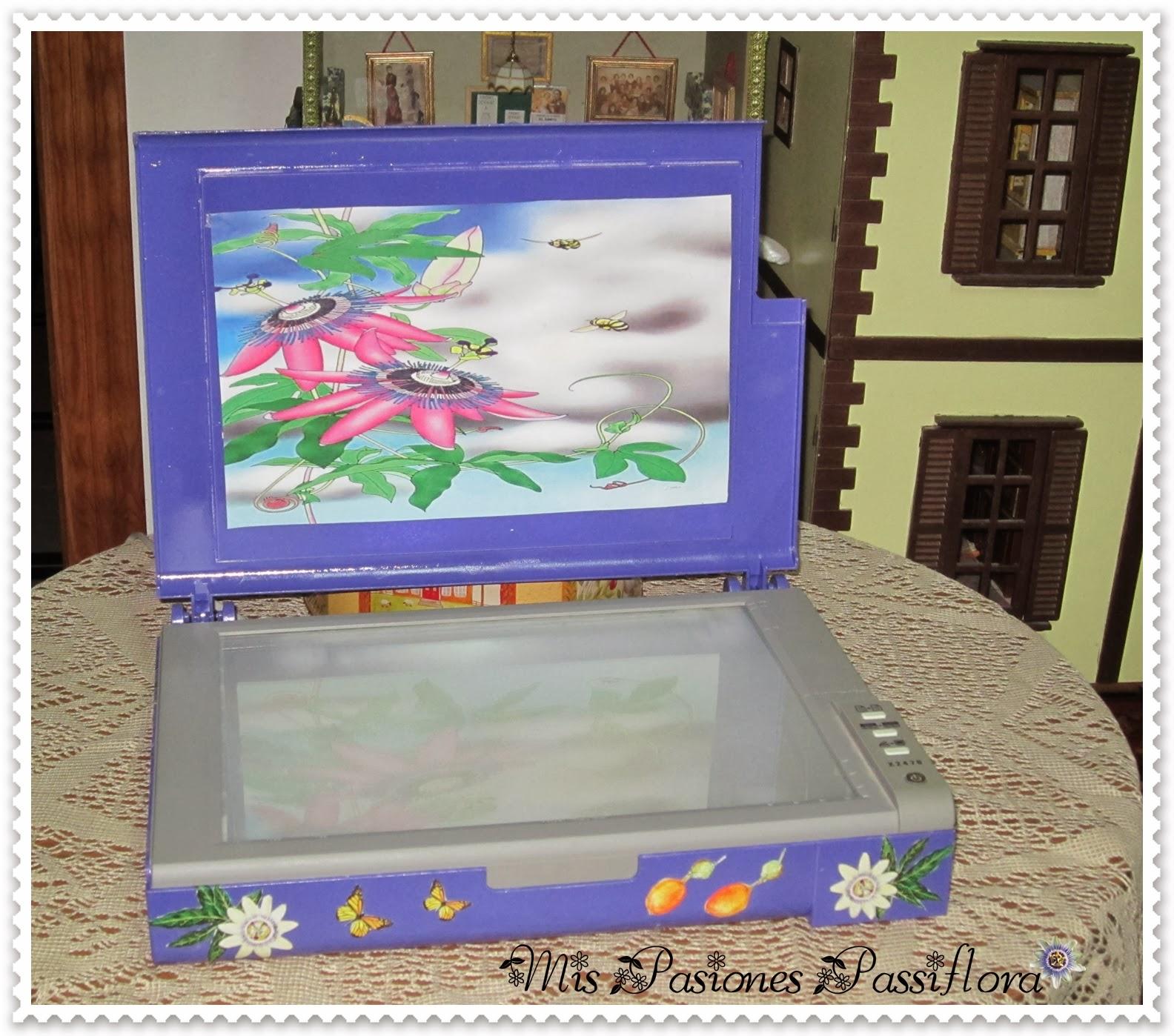 Mis Pasiones Passiflora Caja De Luz