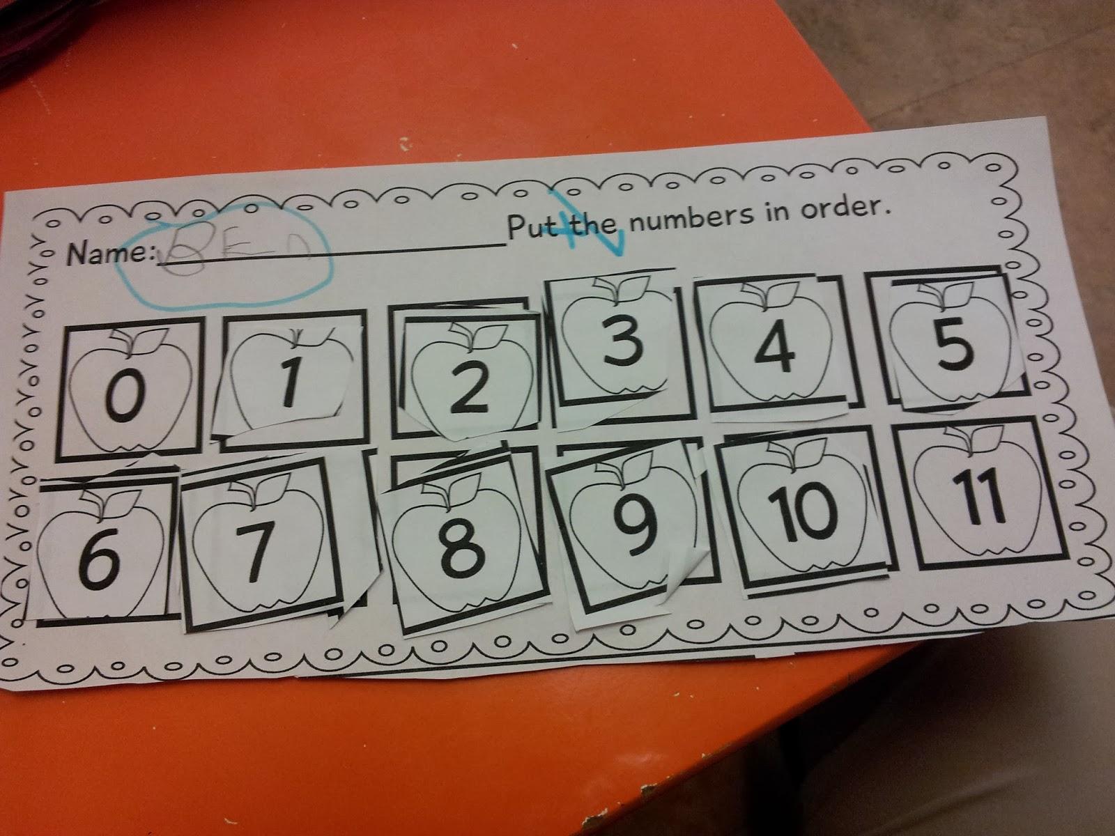The Crazy Pre K Classroom Fall Worksheet Mega Bundle And
