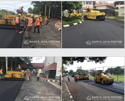 Jasa Pengaspalan, Kontraktor Aspal Hotmix, Jakarta Bogor Bandung Bekasi Tangerang Banten Jawa Barat