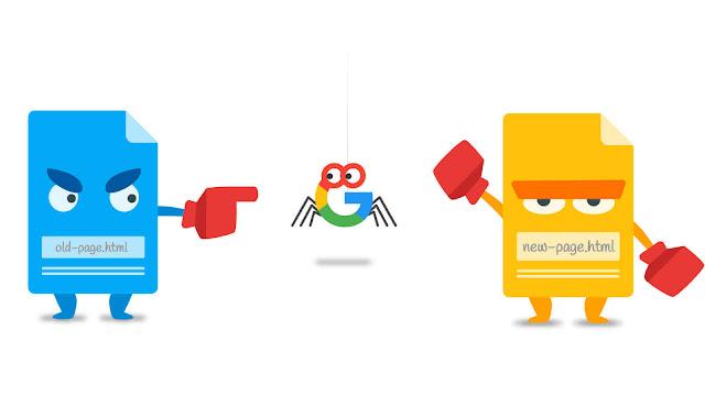 redirect situs web lama ke baru tanpa hilang traffick error 403