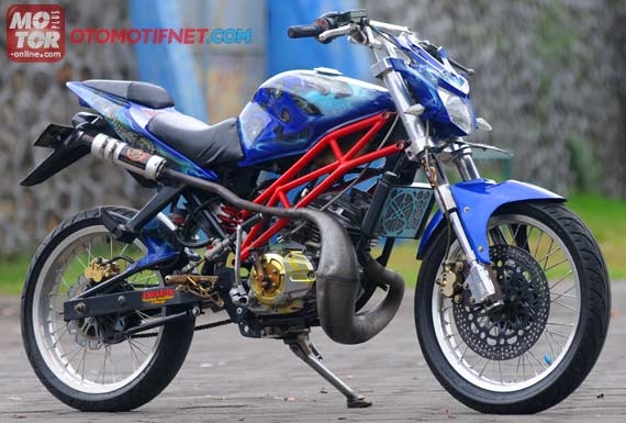 Modifikasi Yamaha RX King Super Moto