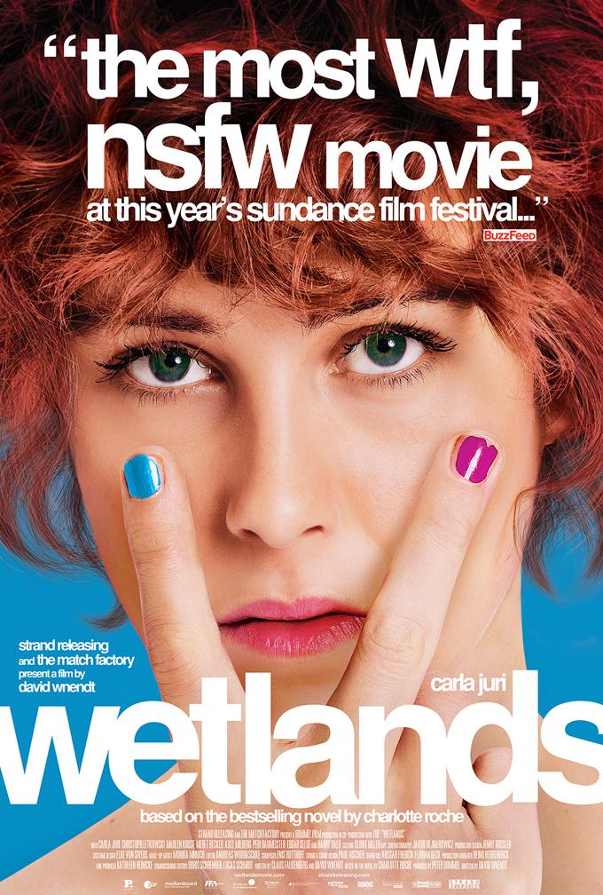 CIA☆こちら映画中央情報局です: Wetlands: 両親の離婚がキッカケで、変態にハマッていった18歳の女の子が