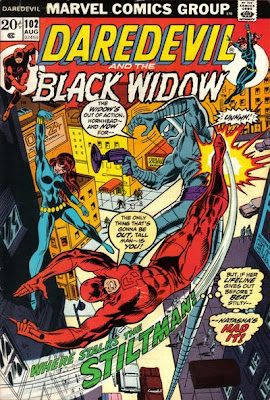 Daredevil and the Black Widow #102, the Stiltman