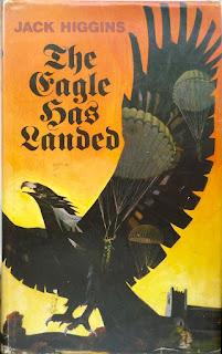 landed eagle higgins jack novel 1975 1976 collins spy cover 1970s jacket crime