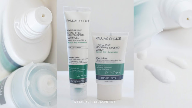 Review Paula's Choice Hydralight Shine-free Mineral Complex SPF30