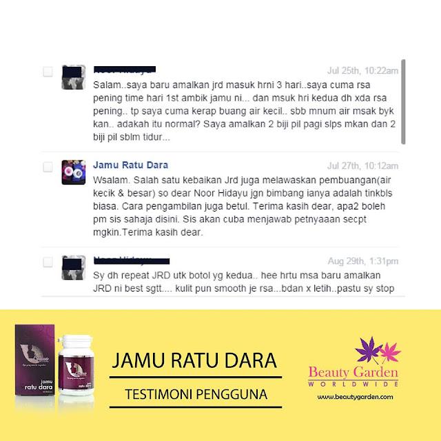 Testimoni Jamu Ratu Dara