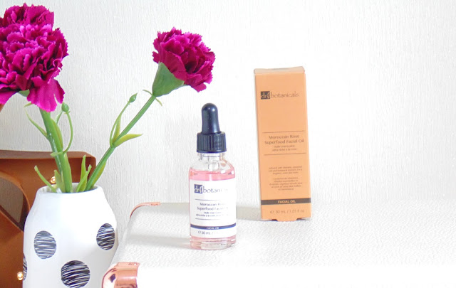 Dr Botanicals Moroccan Rose Facial Oil