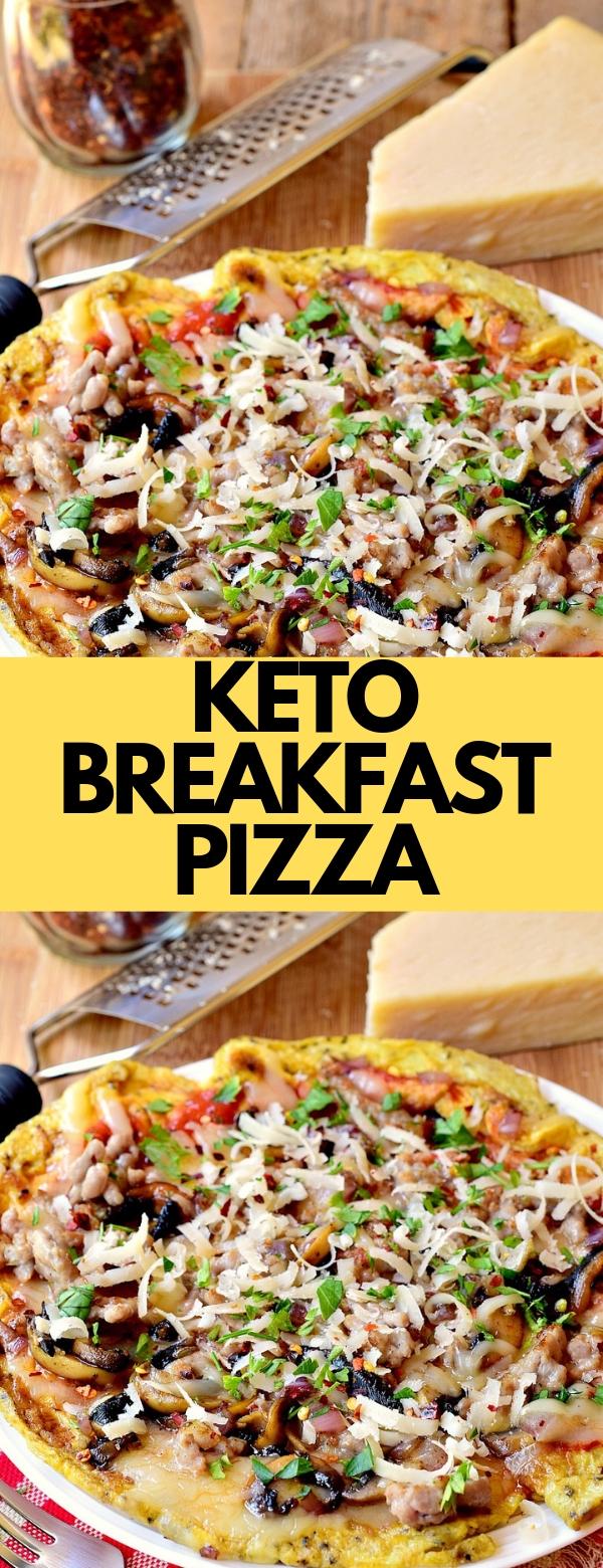 KETO BREAKFAST PIZZA #breakfast #pizza