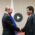 President Duterte meets his idol Putin