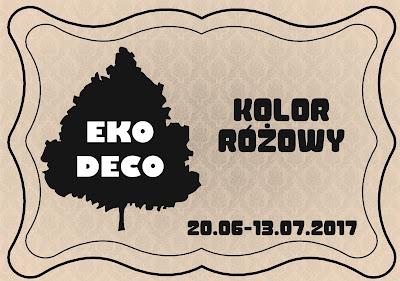 EKO-DECO Różowy
