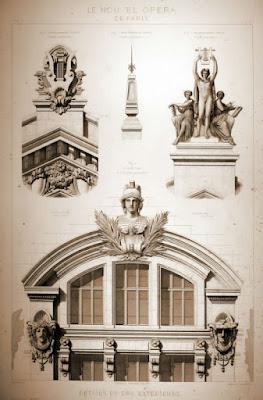 Detalle de fachada 1 Ópera Garnier
