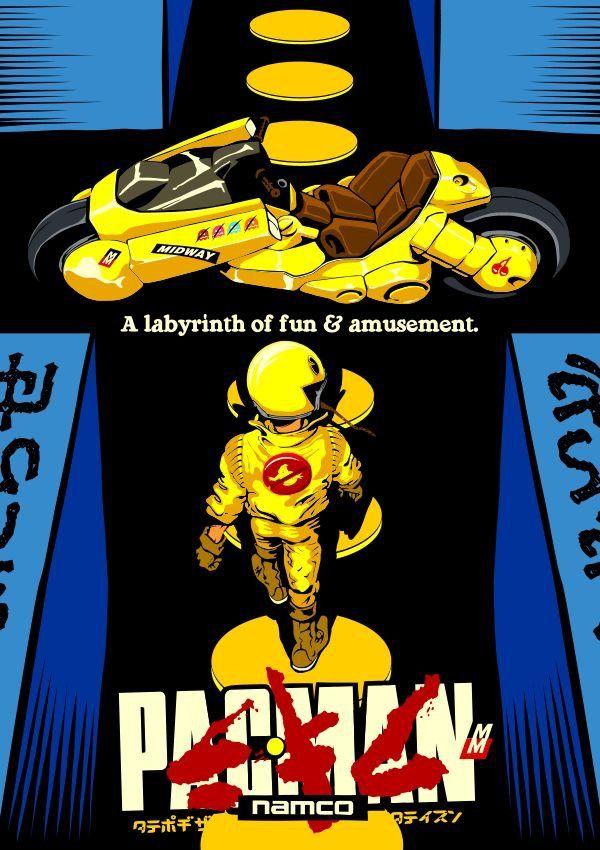 Pac-Man vs. Akira