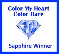 Sapphire Award Winner - Color Dare #366