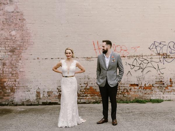 ➳  DAN AND MAYA | NYC CHIC INSPIRED WAREHOUSE WEDDING {MELBOURNE}