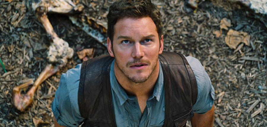 Chris Pratt în filmul Jurassic World