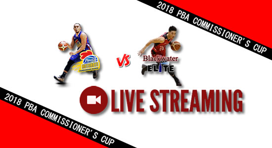 Livestream List: Magnolia vs Blackwater June 6, 2018 PBA Commissioner's Cup