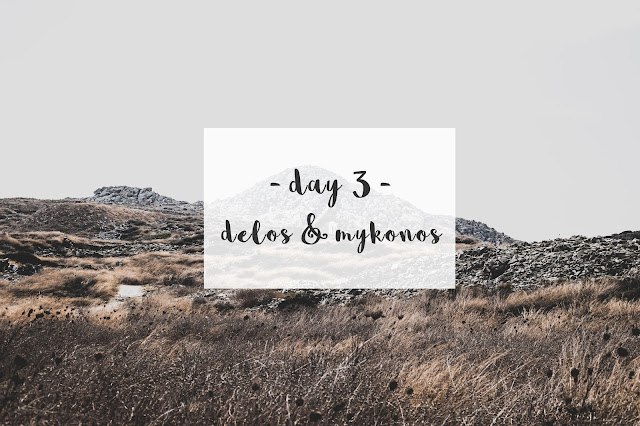 TRIP IN GREECE : LES CYCLADES - DELOS & MYKONOS