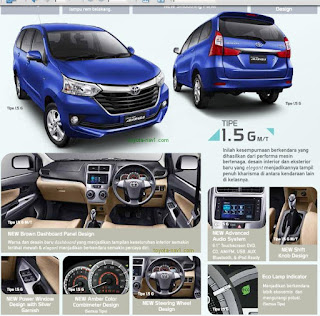 brosur toyota avanza grand new
