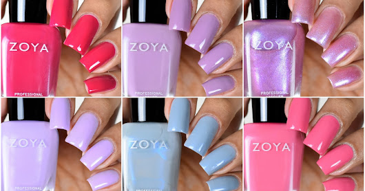 Zoya Thrive Spring Collection - Swatches & Review