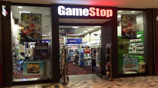 Loja de videgame GameStop