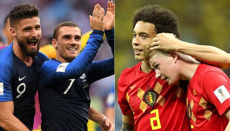 Dove Vedere FRANCIA BELGIO Streaming e Diretta TV Oggi | Mondiali Calcio Russia 2018
