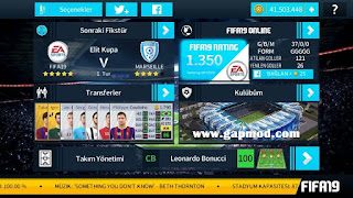 Download DLS 18 Mod FIFA 19 by Sefa Korkut Apk Data Obb for Android