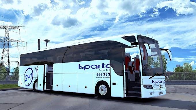 ETS 2 - Mercedes Benz Tourismo 16 RHD Otobüs Modu (1.38)