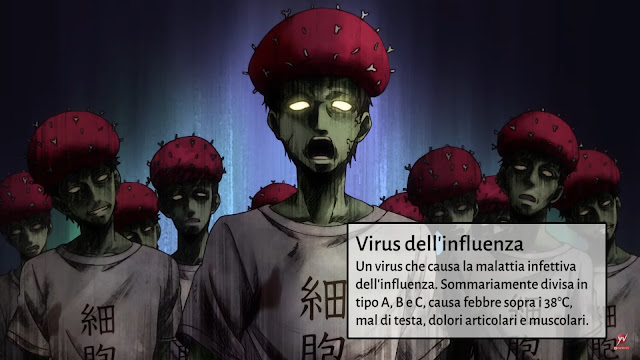 Cells At Work! - Lavori in corpo - Ep 3 - Influenza