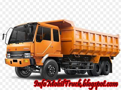 Gambar dump truk fuso mitsubishi