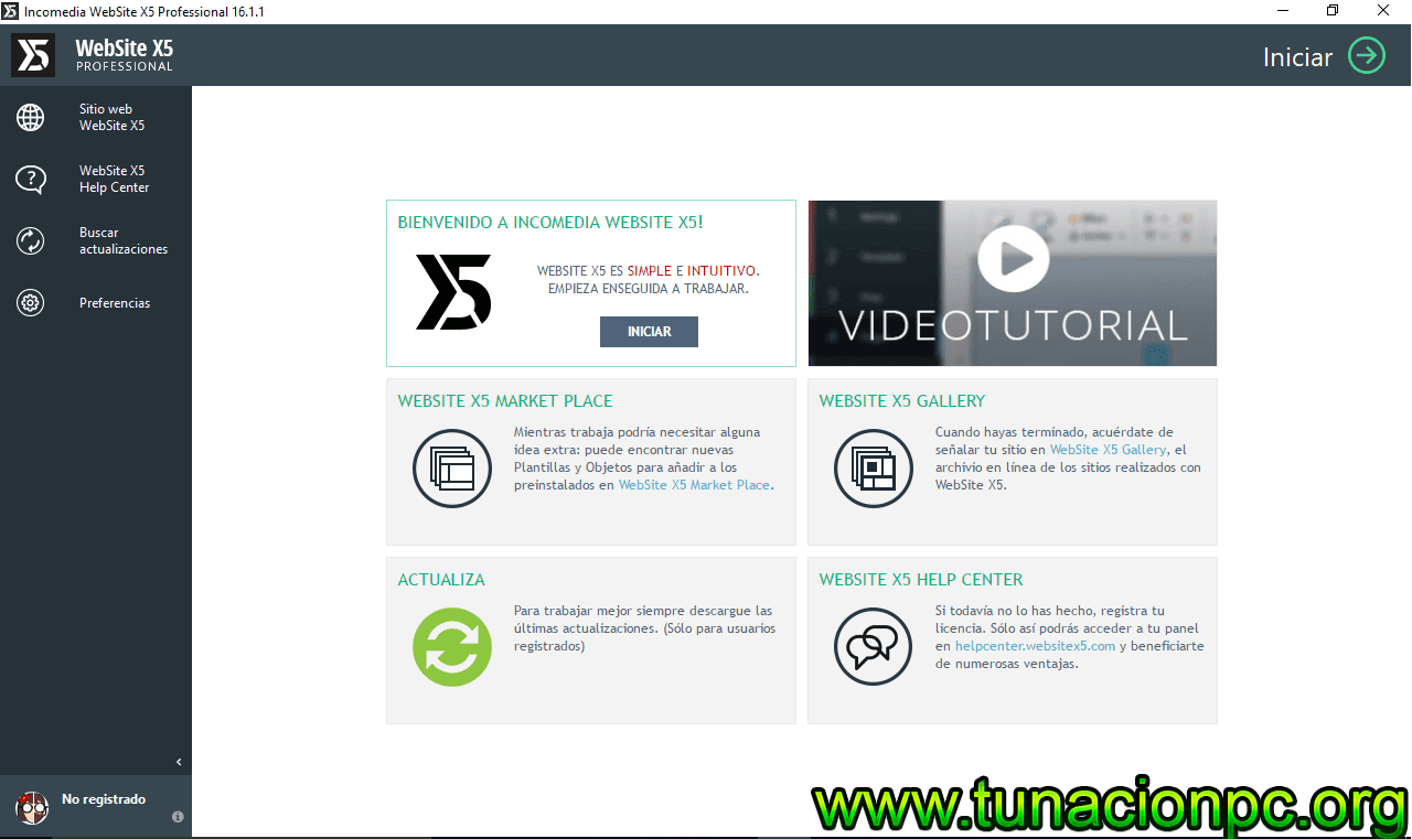 Descargar Incomedia WebSite X5 Professional